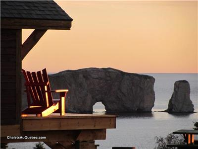Au chalets nature Ocean-Percé