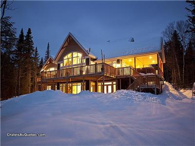 Give Your Group Affordable Luxury - the Villa is the Best Value Per Square Foot in Charlevoix!