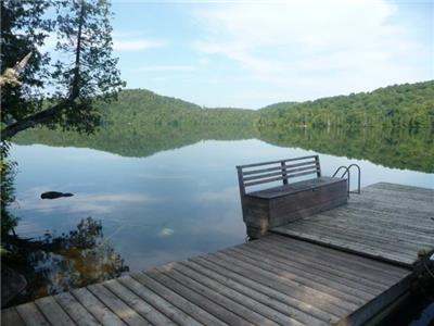 Laurentian cottage on large pristine motorboat-free lake - seasonal rental only