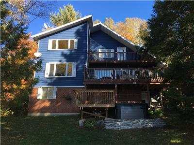 chalet a louer 10-14pers. 5ch. Laurentides