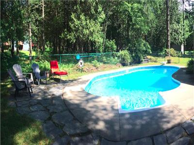 Le Paruline & SPA -  inground pool, golf and hiking at Mont-Orford & Magog !!
