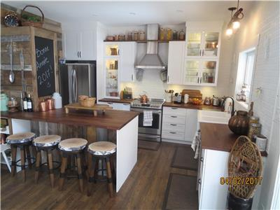 Luxurious cottage on Bromont mountain (10-15pers.)