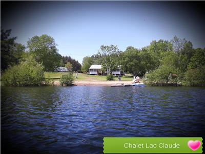 Beautiful open air cottage and waterfront at Lake Claude, Cayamant, QC (1h30 from Ottawa)