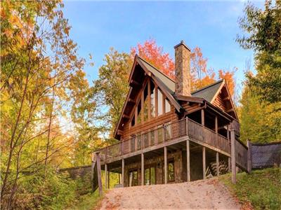 Chalet Tipi, Mont-Tremblant (14 guests) - With access to blueberry lake