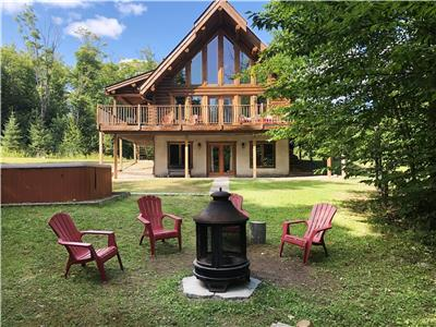 Special 10% discount: Log Cottage Huron, Private Hot Tub, Getaway in nature