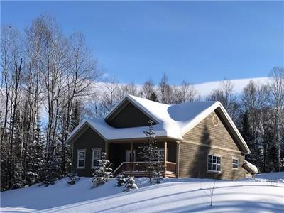 Chalet Lac-Sauvage | Comfort & Space for 10 in Mont-Tremblant, your Peace Haven with Private SPA
