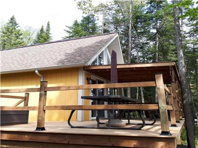 Cottage with access to Lac Lyster, Coaticook