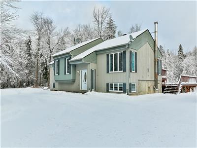 *Gorgeous Quiet Cottage*Family Time with Friends, 15 mins to Ski St-Sauveur/Morin Heights*