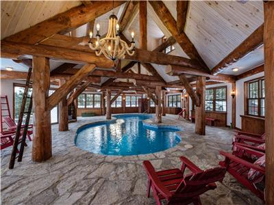 The Lake House Tremblant - Private Beach - Tennis court - Indoor pool