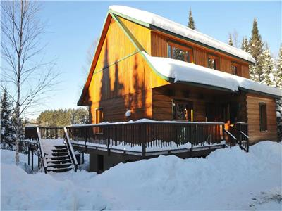 covid-19 safe chalet tremblant versant nord