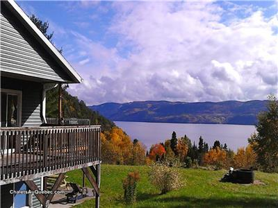 Mountain Cottage Fjord Saguenay